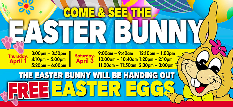 Come & See the Easter Bunny